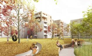 h4a 1. Preis Wohnsiedlung München-Fürstenried