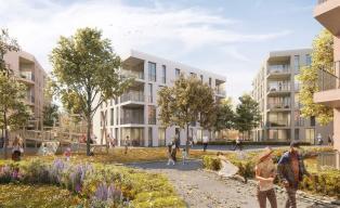 h4a_1. Preis Wettbewerb Wohngebäude Daxlanden