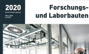 Publikation Laborgebäude Wala im Ernst & Sohn Special