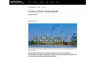h4a_Gymnasium München Nord auf german-architects