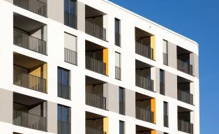 Wohnturm mit Kita München h4a