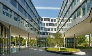 h4a DGNB Platin Bürogebäude Arabeska München