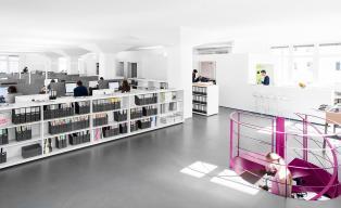 h4a_moderne, offene Bürolandschaft Arbeitswelt