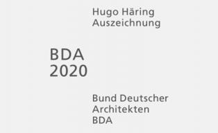 Hugo-Häring-Auszeichnung 2020