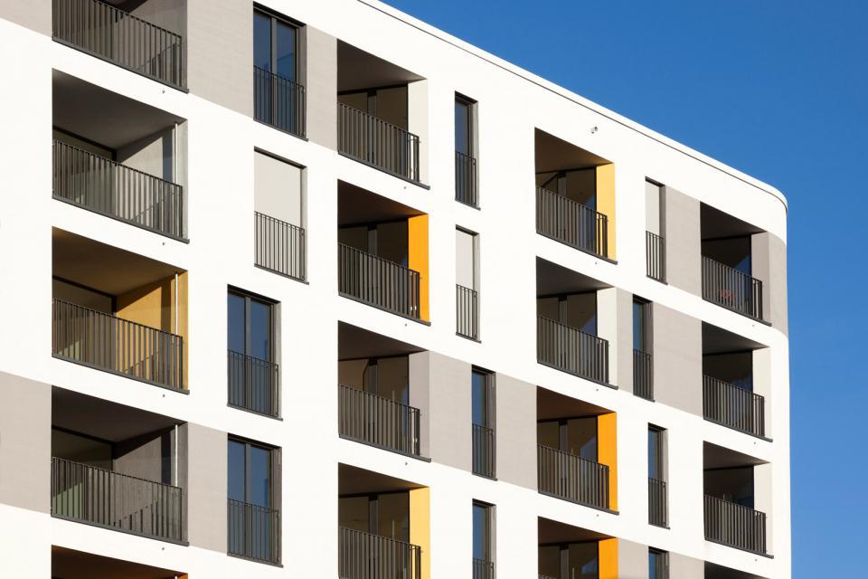 wohnturm mit kita h4a gessert randecker architekten h4a gessert randecker legner architekten. Black Bedroom Furniture Sets. Home Design Ideas