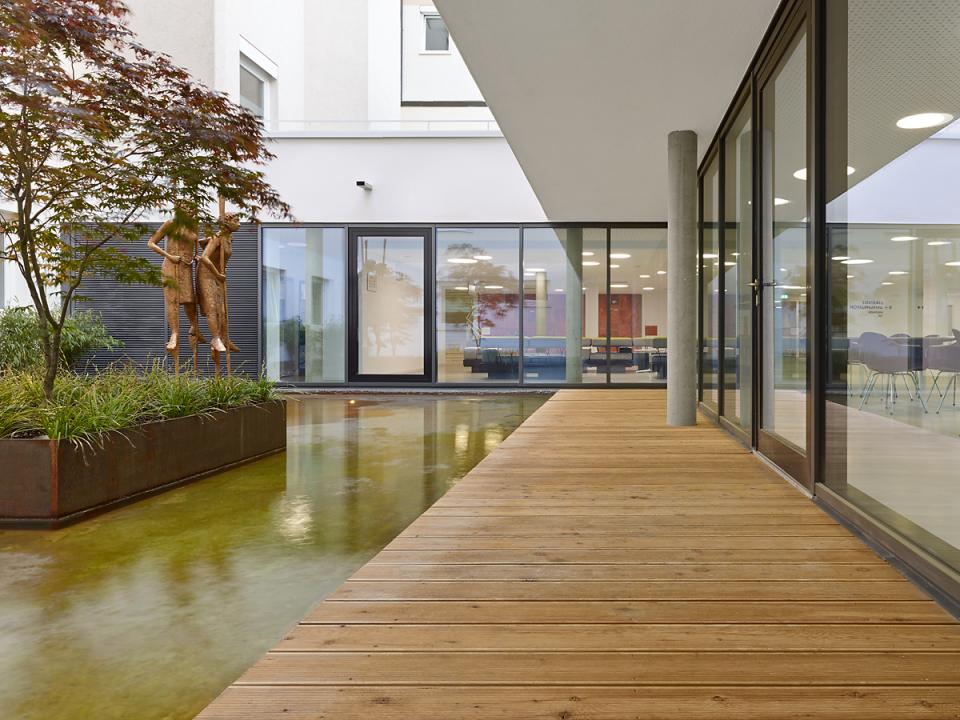 gesundheitszentrum geislingen h4a gessert randecker architekten h4a gessert randecker. Black Bedroom Furniture Sets. Home Design Ideas